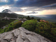 Grandfather Mountain at Sunrise