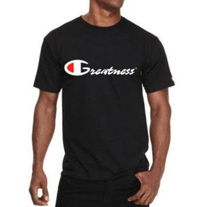 Greatness Black Unisex T-shirt Style 19