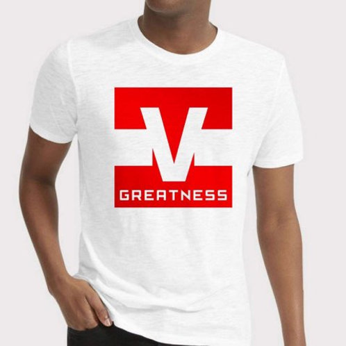 Shoot 4 Greatness White Unisex T-shirt Style 14