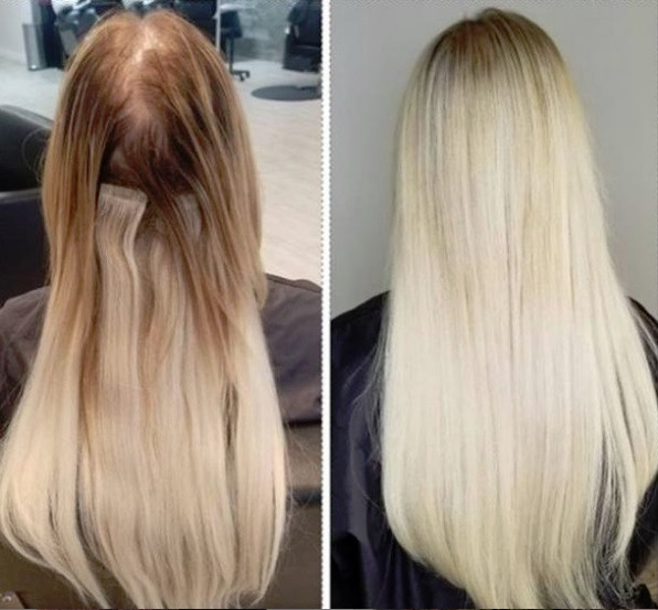 Extensions and Color by Marcela