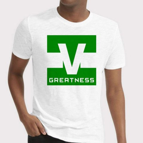 Shoot 4 Greatness White Unisex T-shirt Style 16