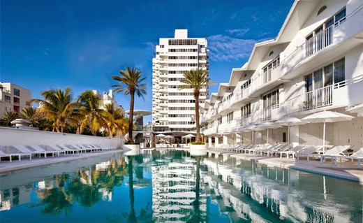 The Shore Club Hotel , Miami Beach