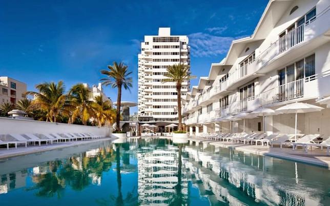 The Shore Club Hotel , Miami Beach
