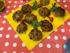 Kids Kitchen Online:  16th of June Veggie Burgers