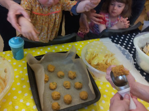 Kids Kitchen Online:  14th April.  FALAFELS