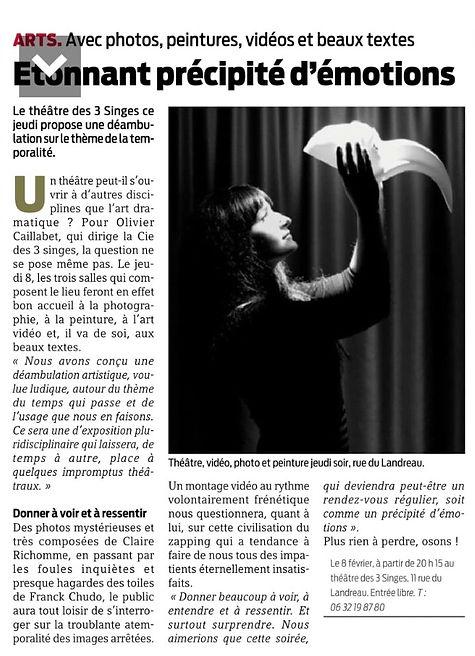 Théâtre des 3 Singes - Nantes - Spectacles