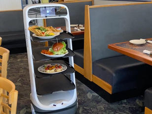 This N.J. Restaurant Hired a Robot Server To Battle Labor Shortage (VIDEO)