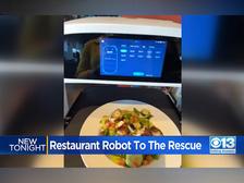 Facing Labor Shortage, Stockton Restaurant Uses Robot To Help Serve