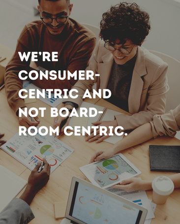 We rely on real-time data insights over