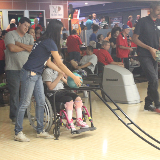 Special Olympics=Bowling