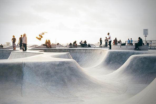 Städtischer Skate Park