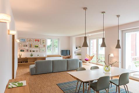 Kampagne für Designwohnungen