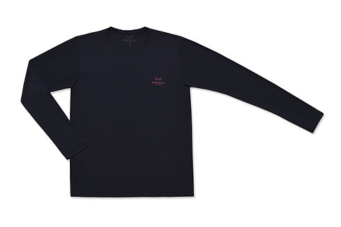 U.V. T-SHIRT / LONG SLEEVES / BLACK