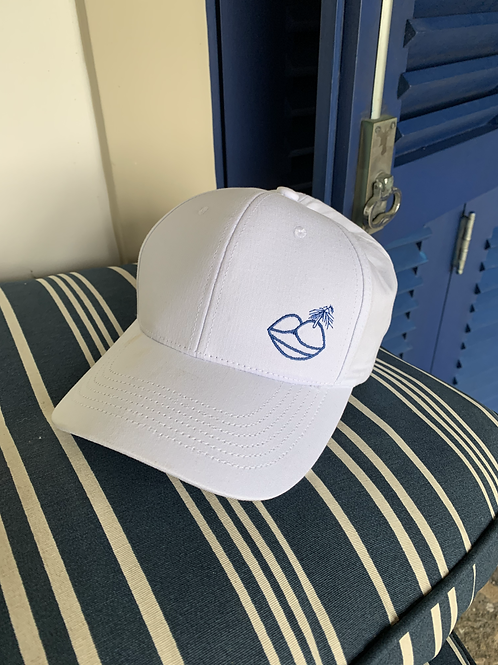 CU-BA LIBRE HAT ! (WHITE AND BLUE)