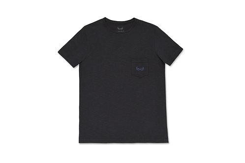 TOPLESS T-SHIRT / BLACK