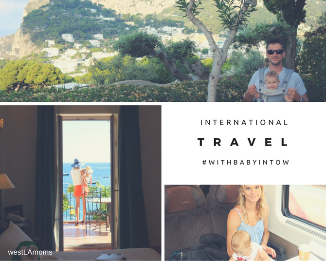 International Travel with #babyintow | Flights