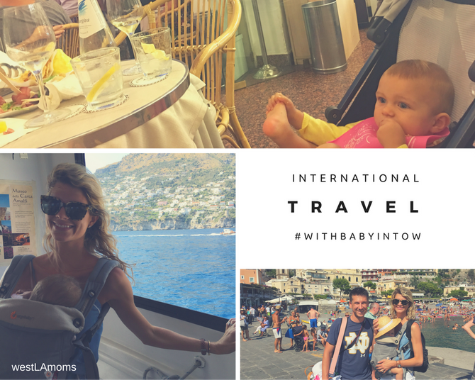 International Travel with #babyintow | Itinerary