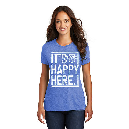 It's Happy Here! Women's T-shirts