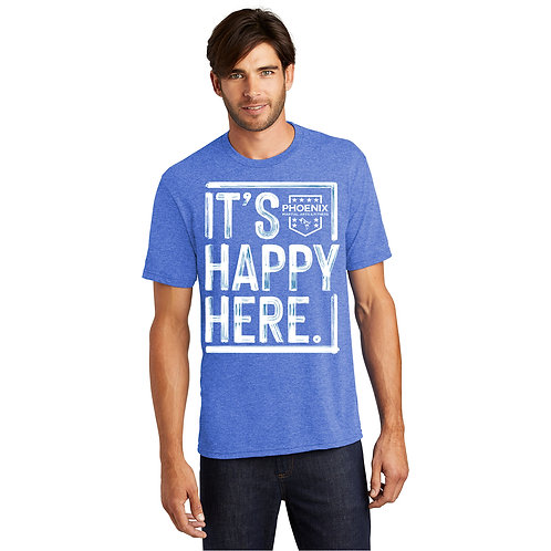 It's Happy Here! Men's T-shirts