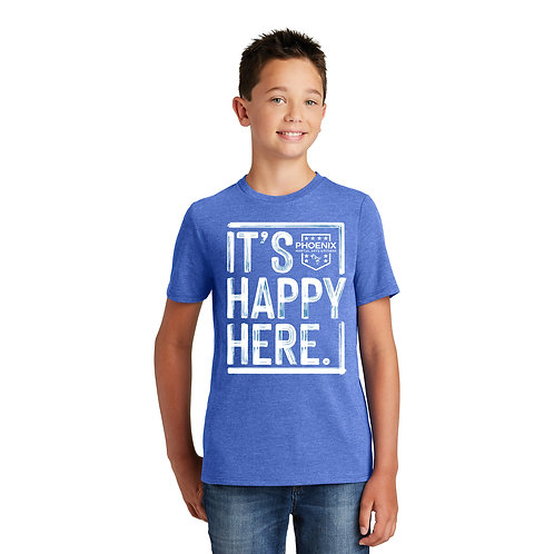 It's Happy Here! Youth T-shirts