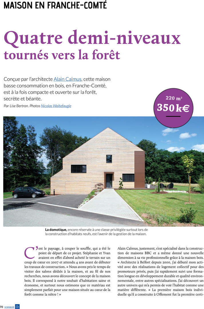 publication Eco Maison