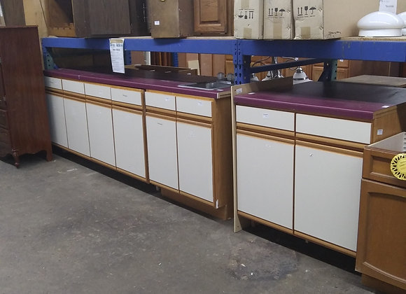 Baraboo - Cabinets with white doors