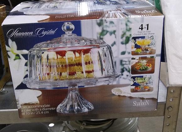 Baraboo - Crystal Cake Dome 4 in 1