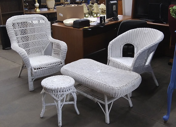 Baraboo - Wicker Chair Set