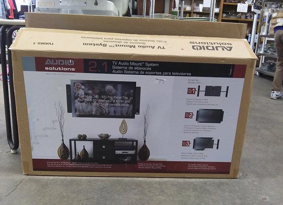Baraboo - Audio Solutions tv mount speaker combo