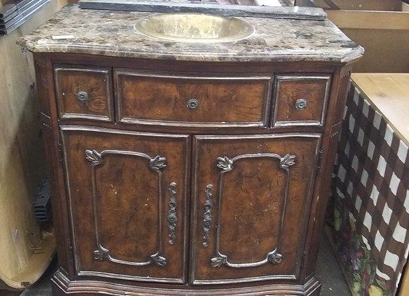 Baraboo - vanity top and copper sink