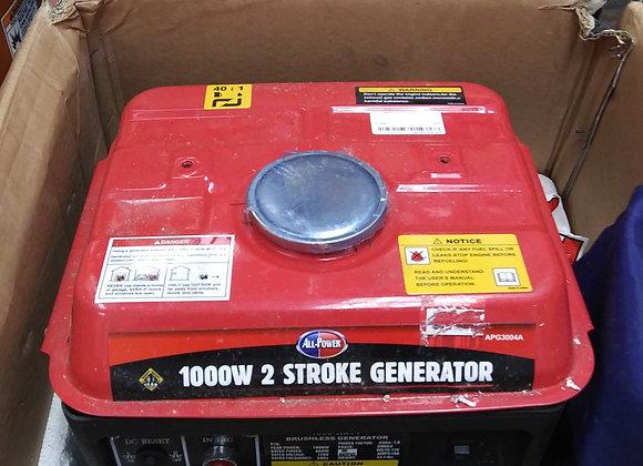 Baraboo - 1000w 2 stroke generator