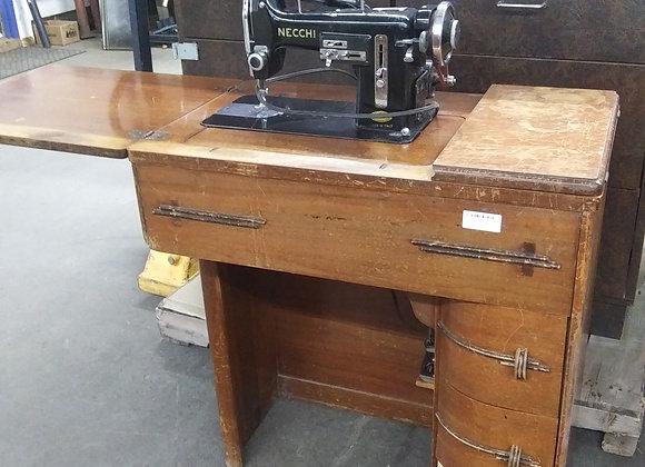 Baraboo - Necchi sewing machine and cabinet