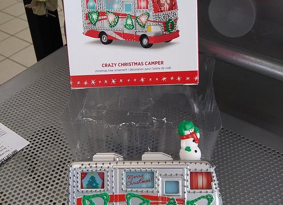 Baraboo - Hallmark Crazy Christmas Camper ornament
