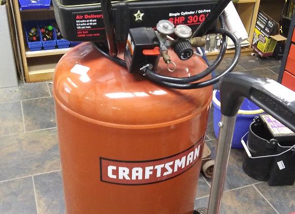 Baraboo - 30 gallon 6 HP Craftsman compressor