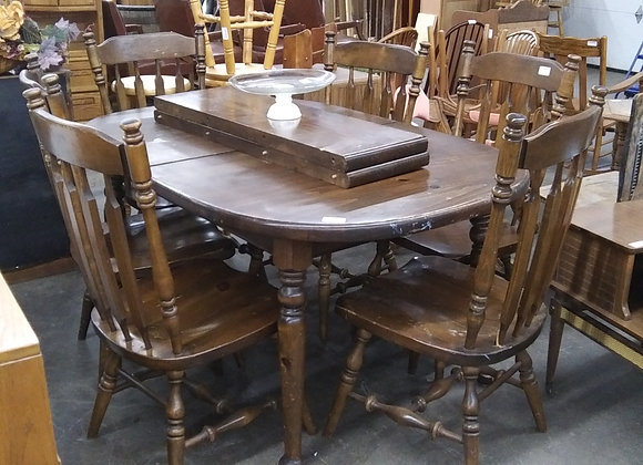 Baraboo - Wood Table and 6 Chairs