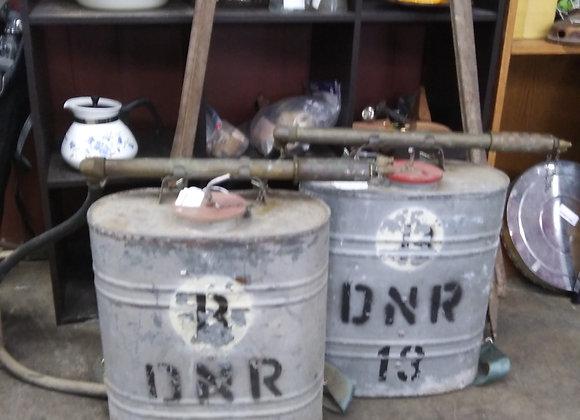 Baraboo - Vintage DNR firefighter gear