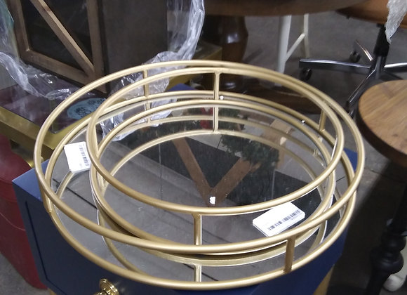Baraboo - Kate and Laurel mirrored nesting trays