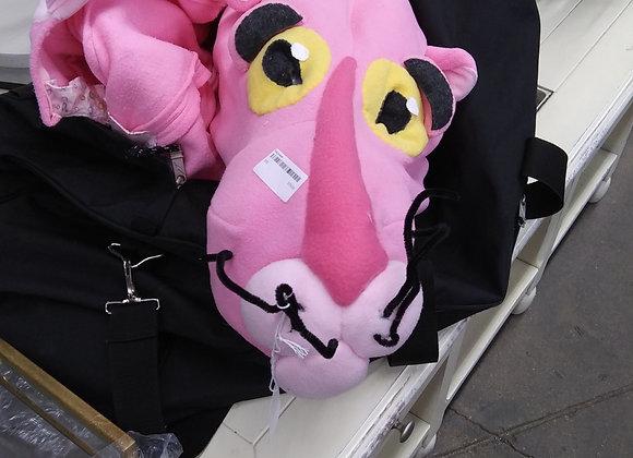 Baraboo - Pink Panther big head costume