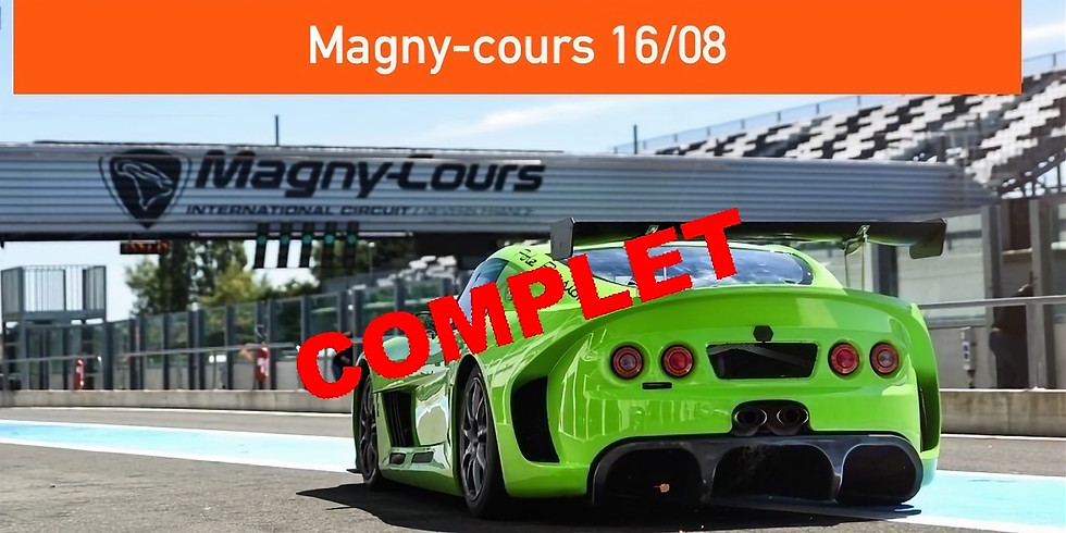Trackdays Magny-cours 16/08