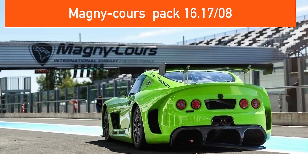 Pack 16.17 Aout Trackdays Magny-cours