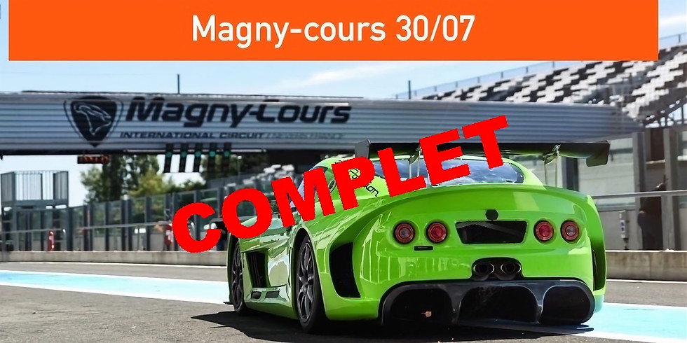 Trackdays Magny-cours  30/07