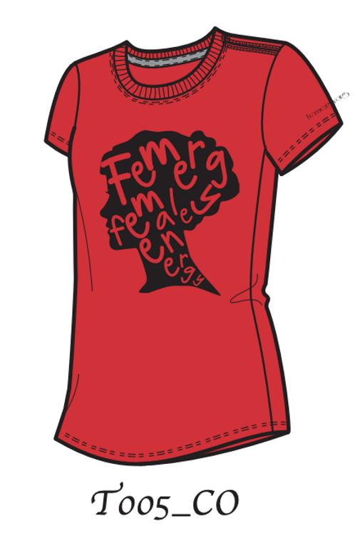 Femergy T-shirt (Red)