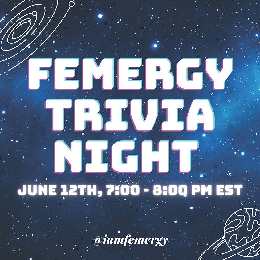 Femergy® Trivia Night