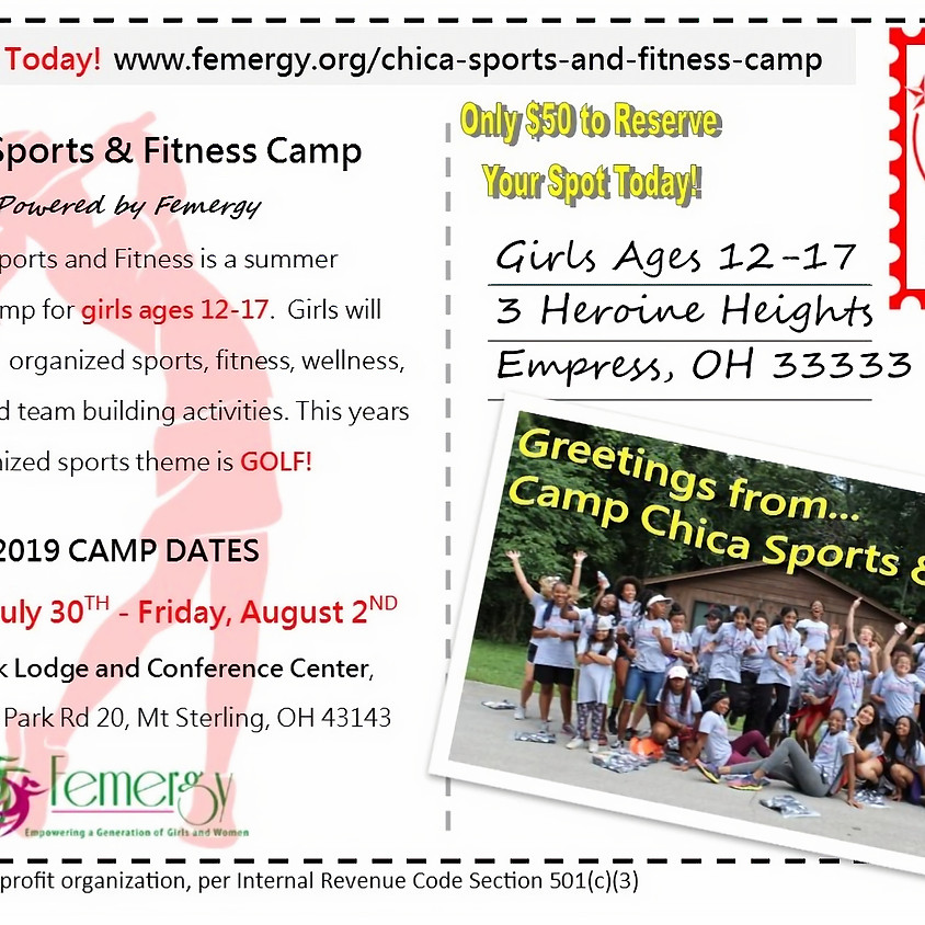 Chica Sports and Fitness Camp 2019