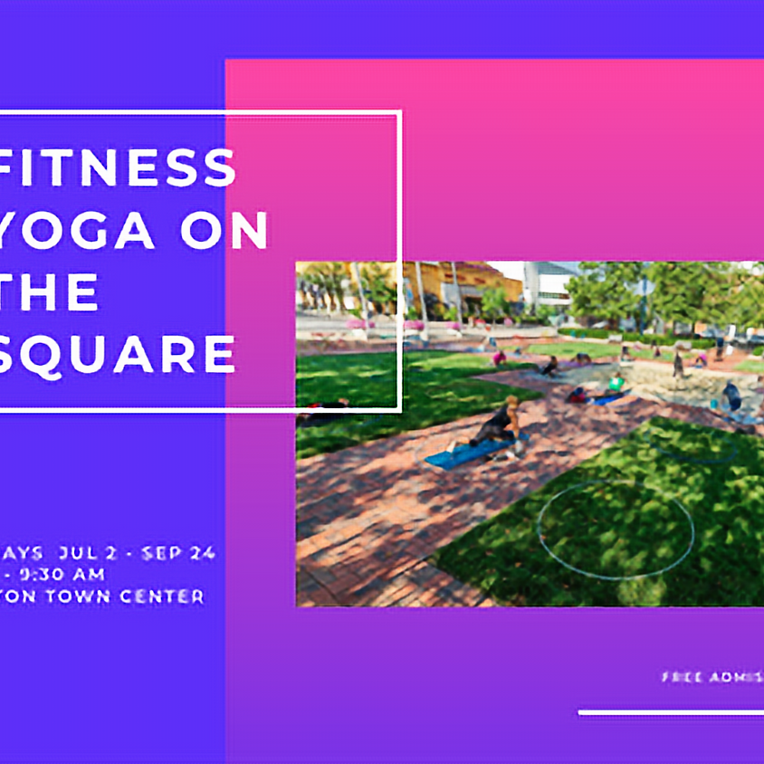 Fitness Yoga on the Square