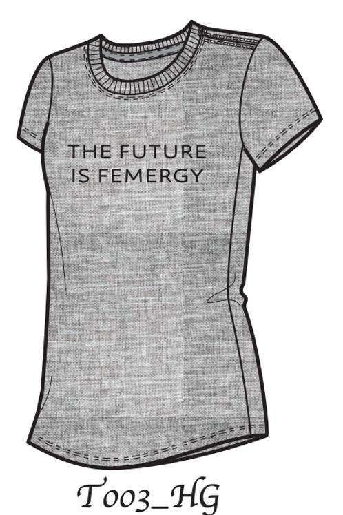 The Future is Femergy (Grey)