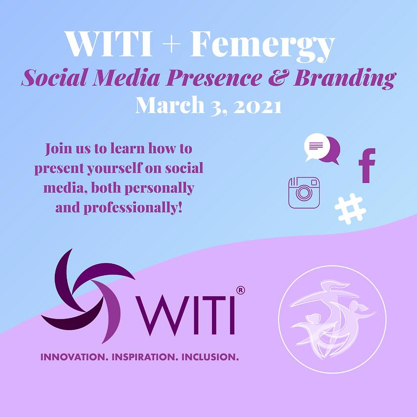 Social Media Presence and Branding