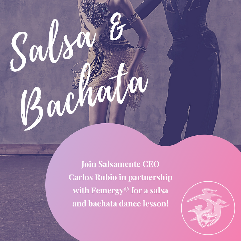 Salsa and Bachata Lesson with Carlos Rubio