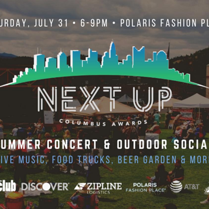 Next Up Columbus Awards: Summer Concert & Outdoor Social