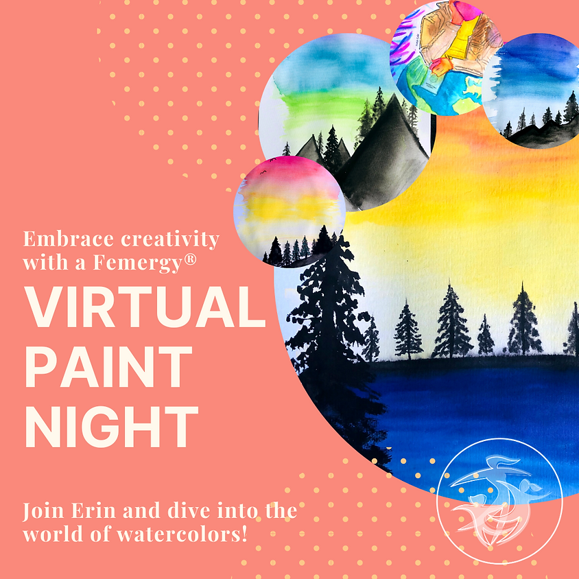 Virtual Paint Night with Erin